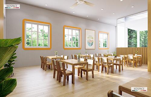 Thiết kế bếp ăn trường mầm non SMS (Star Montessori Preschool)