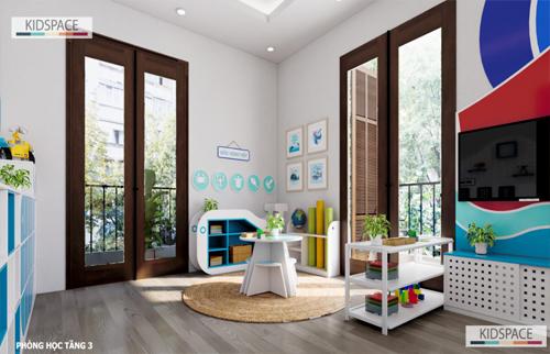 Thiết kế nội thất trường mầm non ATLANTIC