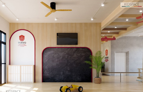 Thiết kế trường mầm non TOKYO – Mỹ Đình – Hà Nội