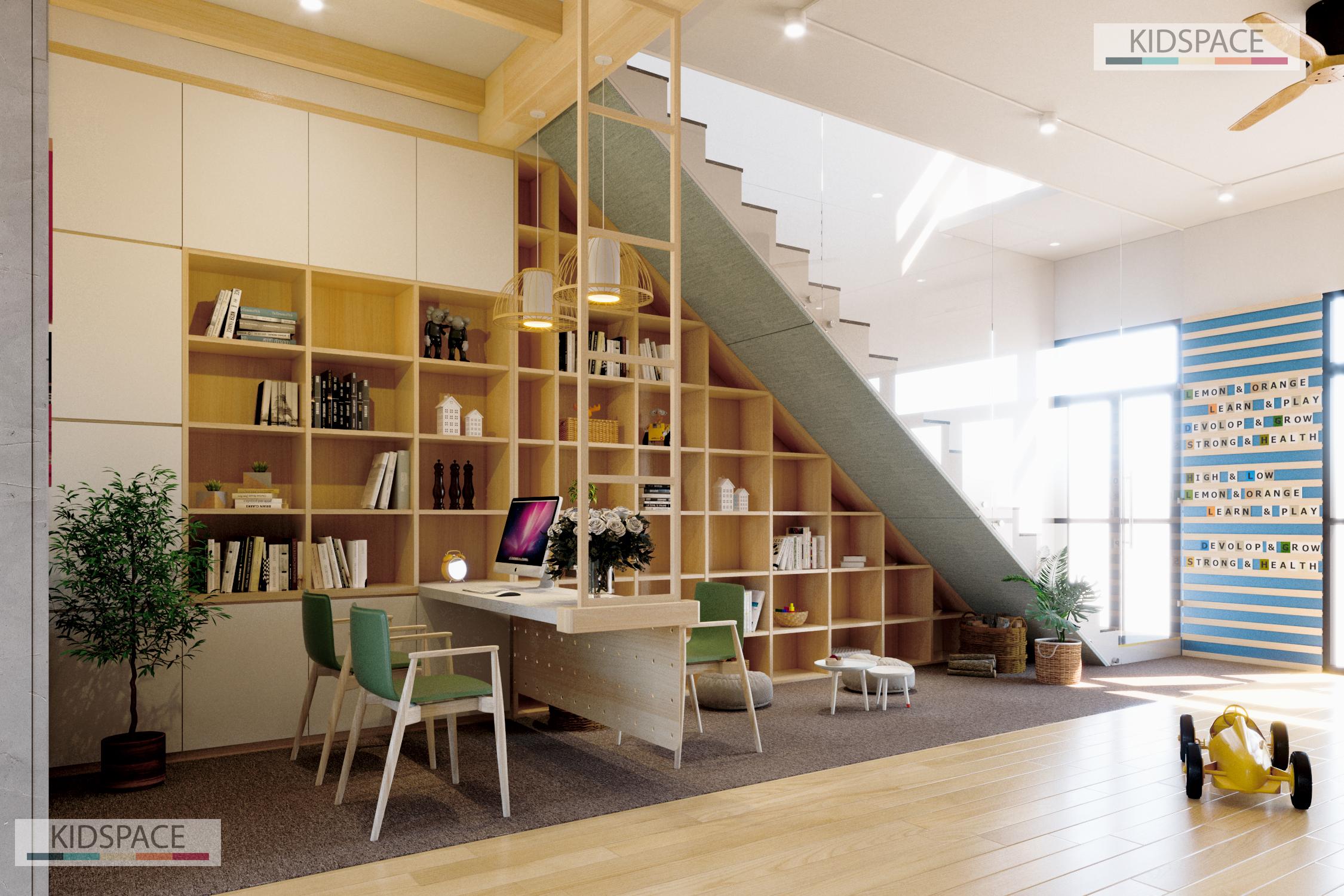 Giải pháp thiết kế nội thất mầm non hoàn hảo cho không gian hẹp