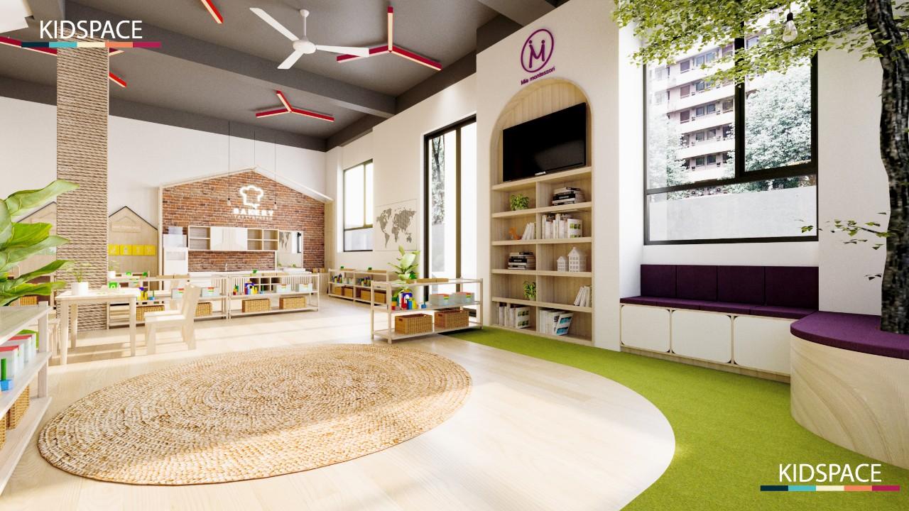 3 mẫu thiết kế nội thất mầm non theo phong cách nhẹ nhàng đầy cuốn hút