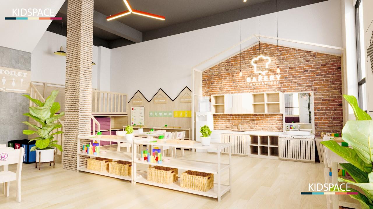 Có nên sử dụng sàn đá trong thiết kế nội thất trường mầm non?