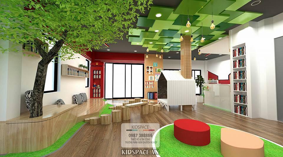 5 ý tưởng thiết kế nội thất trường mầm non vô cùng độc đáo
