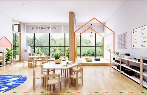 Lựa chọn đồ gỗ cho trường học mầm non. Thiết kế nội thất mầm non đẹp
