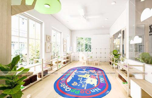 Báo giá thiết kế thi công nội thất trường mầm non ở đâu rẻ nhất?