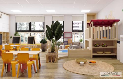 Thiết kế trường mầm non VIETSCHOOL – Hà Nội