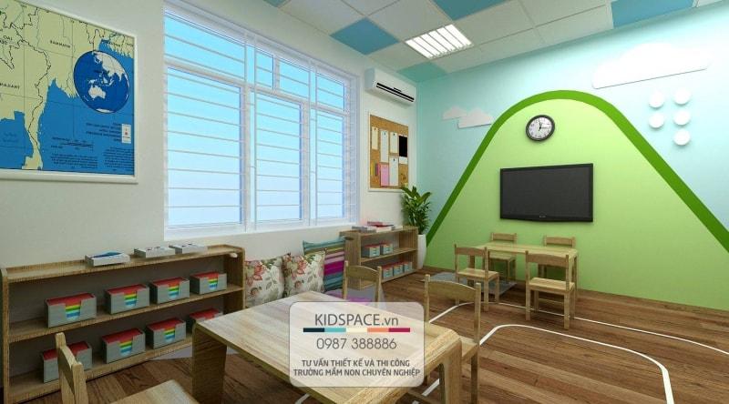 Thiết kế trường học mầm non Việt- Sing