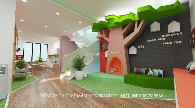 Thiết kế trường mầm non đẹp chuẩn quốc tế - TH NAM CƯỜNG preschool