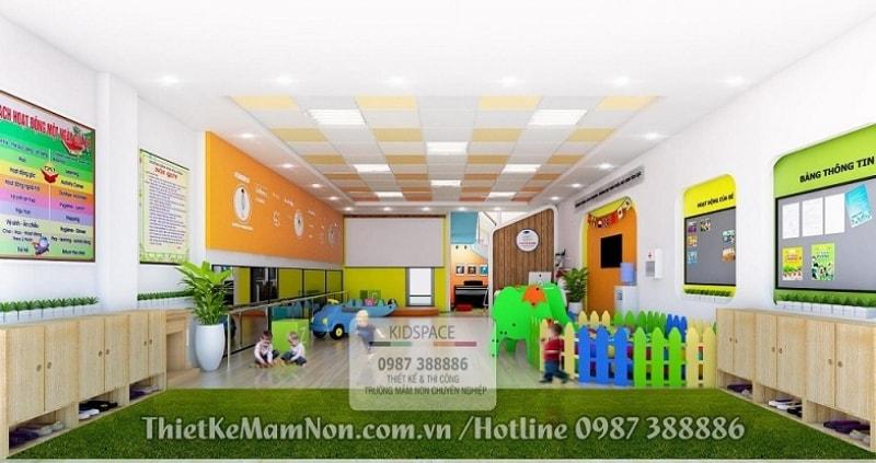 Thiết Kế Trường Mầm Non Montessori chuẩn quốc tế - Kinder House Montessori