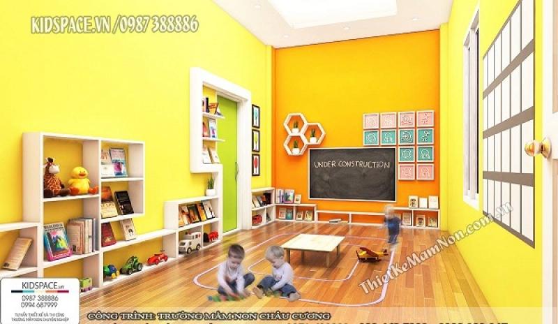 4 ý tưởng thiết kế nội thất trường mầm non vô cùng đẹp mắt và thân thiện với môi trường