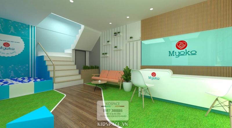 Bí kíp lựa chọn sơn trong thiết kế nội thất trường mầm non