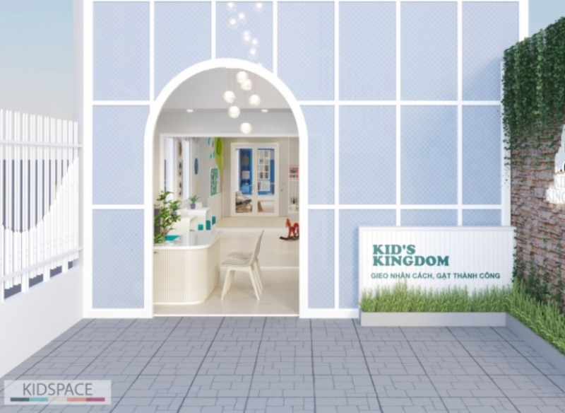 Thiết kế nội thất trường mầm non KID'S KINGDOM