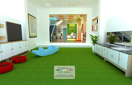 Thiết kế trường mầm non KINDER HOUSE