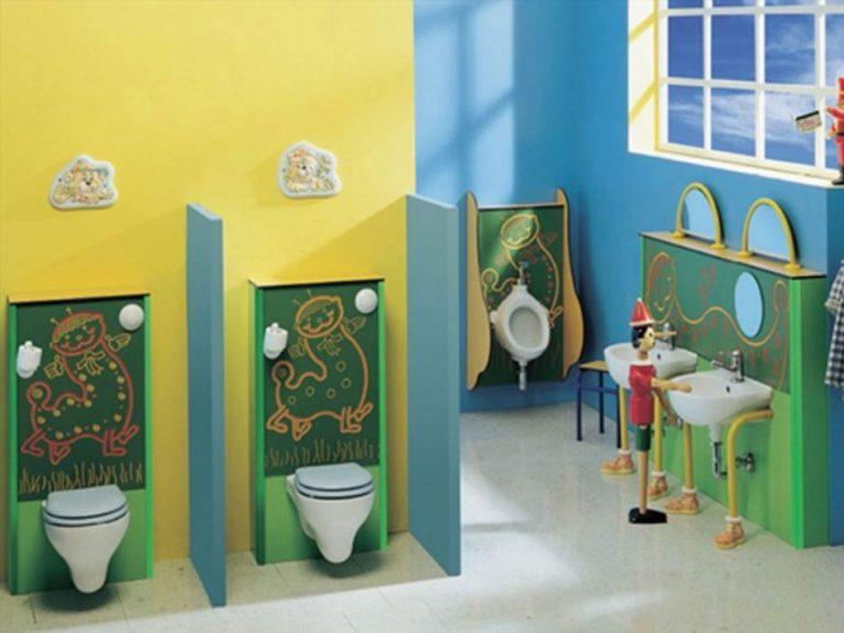 tiêu chuẩn nhà vệ sinh trường mầm non